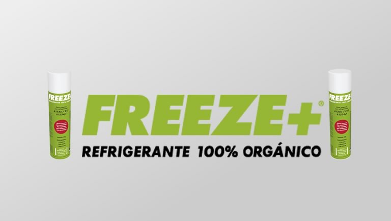 Gas refrigerante freeze +  recambio coche