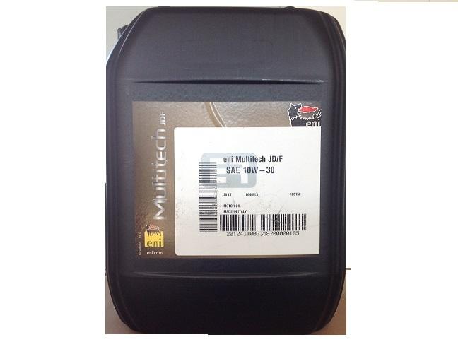 Multifunctional tractor oil Eni Multitech JD / F 10w30 80w 20 Liters