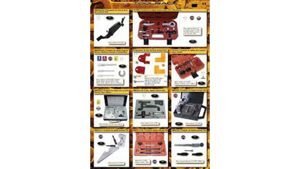 Catalogo Toolrack De Herramientas, Utillaje, Maquinaria De Taller