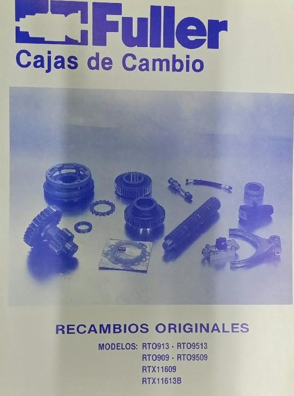 CAJAS DE CAMBIO FULLER VI