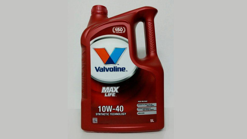 Aceite 10W40 Anticonsumo Valvoline
