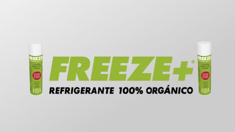refrogerante freeze 100% organico