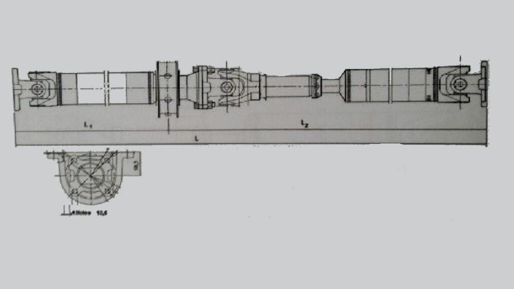 Transmisión Nissan Cabstar 37000MB/ 410/ 810/ 820/ 910/ 911/ 920/ 921